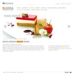 Catering à berlin: DÉCOUVREZ axica FINEST CATERING - Food Design - l'art de savourer en toute beauté - AXICA
