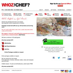 Availing the Best of Spit Roasting and BBQ AT WHOZ THE CHEF