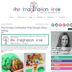 The Hungry Caterpillar Play Dough Story-telling
