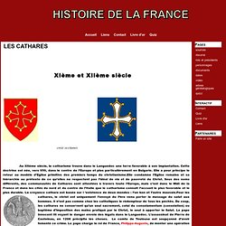 LES CATHARES - histoiredelafrance