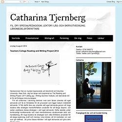 Teachers College Reading and Writing Project 2014