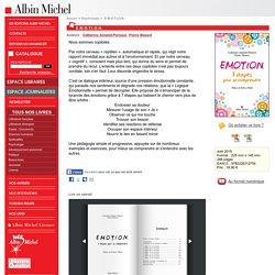E.M.O.T.I.O.N. - Catherine Aimelet-Perissol, Pierre Massot