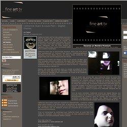 Catherine Ikam & Louis Fléri - Digital Diaries - Art Digital - Fine Art Tv - Photographie film video art