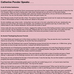 Catherine Ponder Speaks