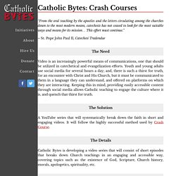Catholic Bytes: Crash Courses – Catholic Bytes