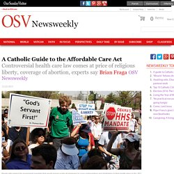 A Catholic Guide to the Affordable Care Act