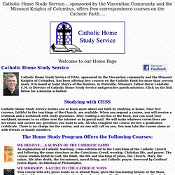 Catholic Home Study Service