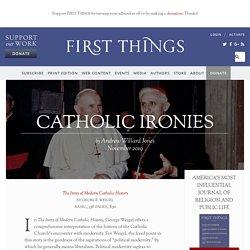 Catholic Ironies by Andrew Willard Jones