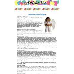 Catholic Kids | Prayers 1