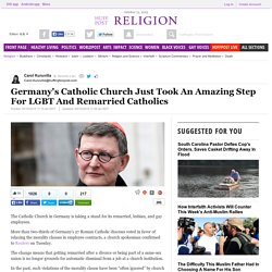 Germany's Catholic Church Just Took An Amazing Step For LGBT And Remarried Catholics