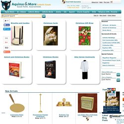 The Catholic store for First Communion Gifts, Confirmation Gifts, Catholic books, Catholic bibles and rosaries.
