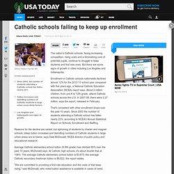 Catholic schools failing to keep up enrollment