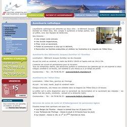 Aumônerie catholique Chambéry - Centre Hospitalier de Chambéry - Aumônerie hôpital