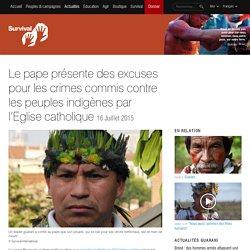 Le pape présente des excuses pour les crimes commis contre les peuples indigènes par l'Eglise catholique