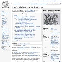 Armée catholique et royale de Bretagne