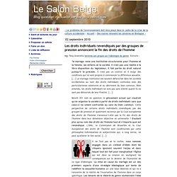 """Idéologie du """"Genre"""""""