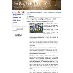 Guérison inexpliquée à Lourdes 2009