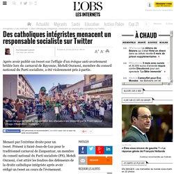 Des catholiques intégristes menacent un responsable socialiste sur Twitter
