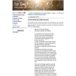 L'intervention de Julien Sanchez