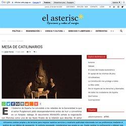 Mesa de catilinarios - elasterisco - Opiniones y notas al margen