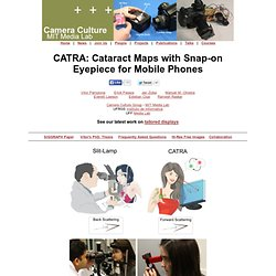 CATRA - Camera Culture Group, MIT Media Lab