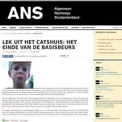 ANS: *Lek uit het Catshuis: het einde van de basisbeurs