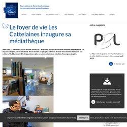 Le foyer de vie Les Cattelaines inaugure sa médiathèque
