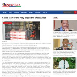 Cattle Man brand may expand to West Africa