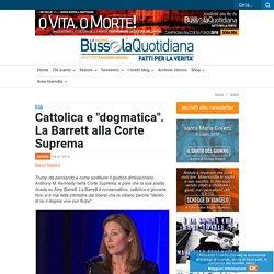 """Cattolica e """"dogmatica"""". La Barrett alla Corte Suprema"""