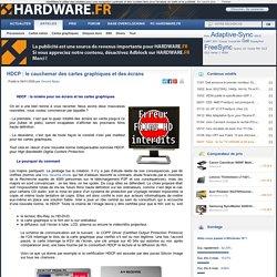 HDCP : le cauchemar des cartes graphiques et des écrans