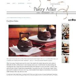 The Pastry Affair - Home - Cauldron Cakes