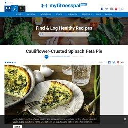 Cauliflower-Crusted Spinach Feta Pie