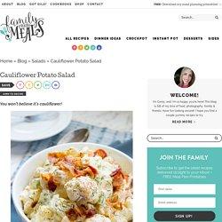 CauliflowerPotato Salad