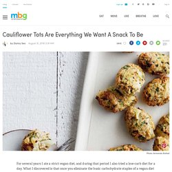 Cauliflower Tots Recipe (Gluten-Free)