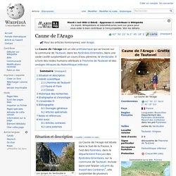 Caune de l'Arago