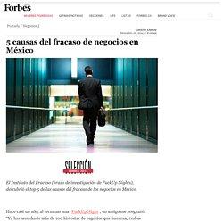 5 causas del fracaso de negocios en México - Forbes Mexico