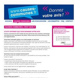 Causes communes Rennes Métropole