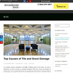 Top Causes of Tile and Grout Damage