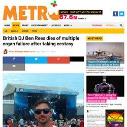 MDMA causes death of British DJ Ben Rees in Berlin