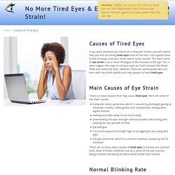 Tired Eyes - tiredeyes-eyestrain.com
