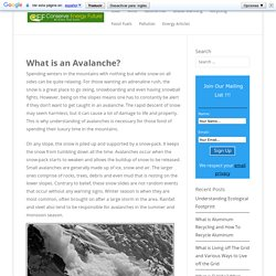 Types, Causes and Effects of Avalanches