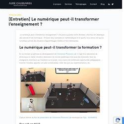 Aude Caussarieu - Experte en didactique - Accompagnement des formateurs et pédagogie impactante