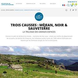 Causses Méjean, Noir & Sauveterre : vue sur les Gorges du Tarn et la Jonte