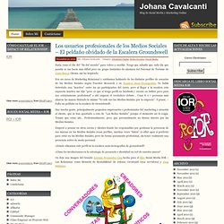 Johana Cavalcanti - eCommerce eMarketing Manager. El Blog de una eCommerce