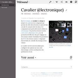 Cavalier (électronique)
