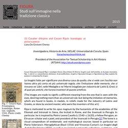 (1) Cavalier d'Arpino and Cesare Ripa's Iconologia: ut pictura poesia