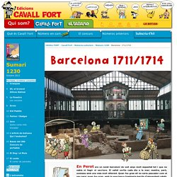 Cavall Fort: 1230: Barcelona: 1711/1714
