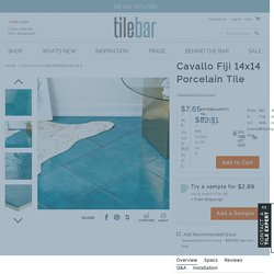 Cavallo Fiji 14x14 Porcelain Tile