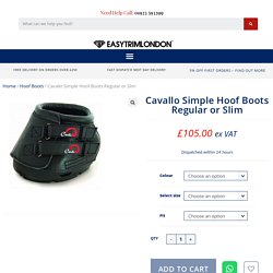 Cavallo Simple Hoof Boots