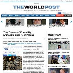 'Gay Caveman' Found By Archaeologists Near Prague